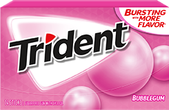 Trident Bubblegum Sugar Free Gum Can something be classic