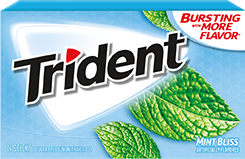 Trident Mint Bliss Sugar Free Gum