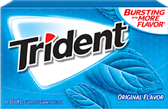 Trident Original Flavor Sugar Free Gum We wanted to be gum. Why not both?