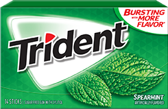 Trident Spearmint Sugar Free Gum becomes the Cool Crusader of Spearmint Freshness