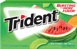 Trident Watermelon Twist SugarFree Gum